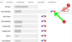 Cara Input dan Edit Data PUPNS