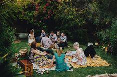 Picnic   Australian Apple Orchard Wedding: Lauren + Glenn by Samm Blake