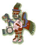 Huitzilopochtli, the God of War. Brief explanation of Aztec human sacrifice. Central America, South America, Latin America, Aztec History, Aztec Empire, 5th Grade Art, Aztec Art, Inca, Arts Ed