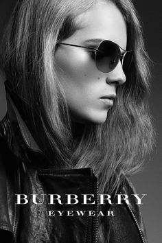 Burberry presents British artist Marika Hackman wearing aviator sunglasses from the Spring/Summer 2012 eyewear collection