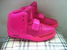 Nike Air Yeezy Shoes 2 Ii Womens All Pink Hot on Sale, $82.64 | www.sellnikeshoe.com