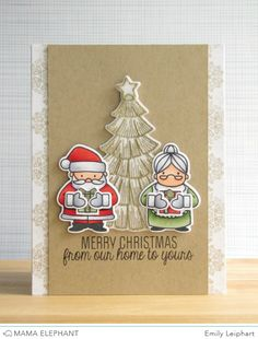 mama elephant | design blog: First Look with Emily - Creative Cuts for Cozy Christmas!
