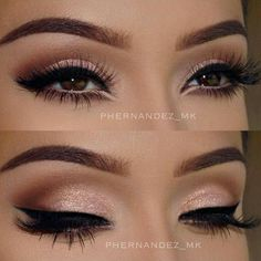 Eye makeup can easily complement your beauty and make you look and feel stunning. Find out the correct way to use make-up so that you can show off your eyes and impress. Learn the top tips for applying make-up to your eyes. Makeup Goals, Makeup Inspo, Makeup Inspiration, Makeup Ideas, Makeup Tutorials, Makeup Hacks, Makeup Geek, Color Inspiration, Prom Makeup Tutorial