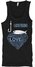 Discover I Love Fishing T Shirts,Hoodies,Tank Top T-Shirt, a custom product made just for you by Teespring. With world-class production and customer support, your satisfaction is guaranteed. - I Love Fishing