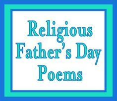 Religious-Poems-for-Fathers-Day