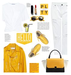 """hello yellow"" by licethfashion ❤ liked on Polyvore featuring Zara, Edit, T By Alexander Wang, Chicnova Fashion, Alba Botanica and Chanel"