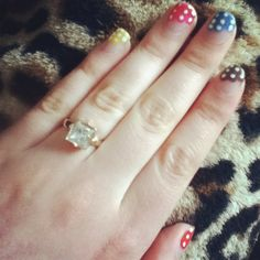 Cute nail design •Done by Mrs.FinnJackMarcus
