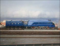 Number 4468 Mallard is a LNER Class A4 4-6-2 Pacific steam locomotive  built in the 1930s and designed by Gresley. A wind-tunnel tested,  aerodynamic body allowed it to reach speeds of over 100mph.