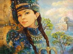Современная живопись. Бузунеева Анастасия