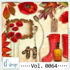 Vol. 0064 - Autumn Mix  by Doudou's Design  #CUdigitals cudigitals.com cu commercial digital scrap #digiscrap scrapbook graphics
