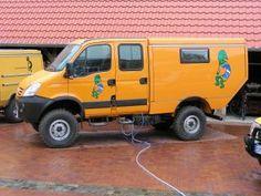 Iveco 4x4 Camper Van | Iveco Daily 4x4 van Innovation Campers