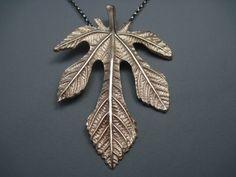 Bronze Fig Leaf www.brelokz.com