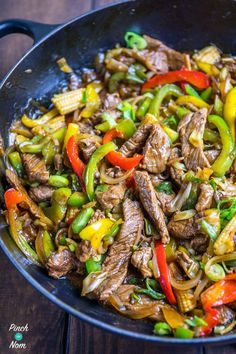 You would never know that this Slimming World Syn Free Stir-fried Beef with Ginger and Spring Onion didn't come from the Chinese takeaway!