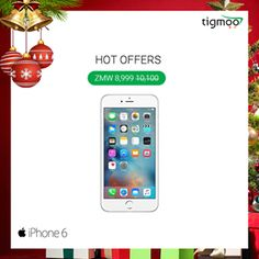 Buy #Apple #iPhone6 128GB on the special prices of ZMW 8,999 at #Tigmoo https://www.tigmoo.com/apple-iphone-6-128gb-gold.html