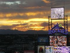 Coors Field. So many good times