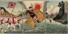 Dinge en Goete (Things and Stuff): This Day in History: Aug 1, 1894: First Sino–Japanese War Starts
