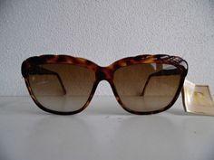 . helena rubinstein . nos eyewear tortoise shades sunglasses glasses unworn #80s from $15.0