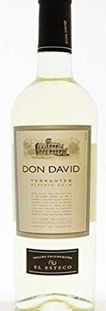 Michel Torino Don David Torrontes Reserve - 6 x 750ml The Torrontes Grape Is A Typically Argentinean Variety,Which Has Found In The Cafayate Valley,Its Ideal Habitat. This Grape Variety,Only Found In The North Of Argentina,Has A Strong And Pleasant Bouqu http://www.comparestoreprices.co.uk/december-2016-week-1-b/michel-torino-don-david-torrontes-reserve--6-x-750ml.asp