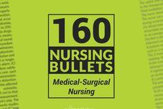160 Nursing Bullets: Medical-Surgical Nursing Reviewer