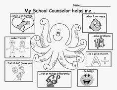 I had 30 minutes with each class to do an intro lesson to school counseling. Here's what I did with each level:   K-1: Object Lesson   Mater...