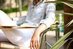 Chemise Véronique  #lookbook #atode #summer #ss17 #madeinfrance #robe #coton #dress #minimaliste #saintjeancapferrat #nice