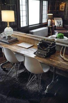 Pensando Vintage: Decorar con máquinas de escribir!!!!