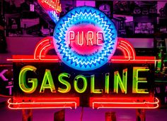 Original Pure Gasoline Neon Sign