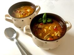 Zupa gyros - Blog z apetytem Cheeseburger Chowder, Ethnic Recipes, Blog, Impreza, Angel, Drinks, Diet, Kitchens, Kuchen