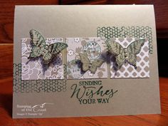 Stampin' Up! Papillion Potpourri, Butterfly Basics, Irresistibly Yours DSP