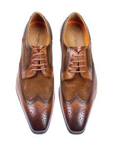 Cognac Melik shoes Veterschoenen | 57296600