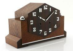 Extraordinary Art Deco mantel clock