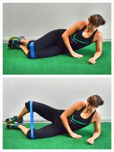 Glute Activation Exercises - Clamshells