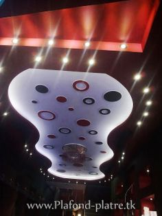 Faux plafond pour Café Hôtel et Restaurant