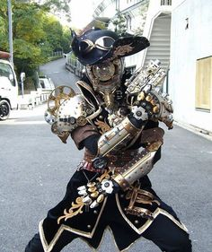 Amazing cosplay by rodemu6 #steampunktendencies #steampunk #cosplay #amazing #awesome #pirate