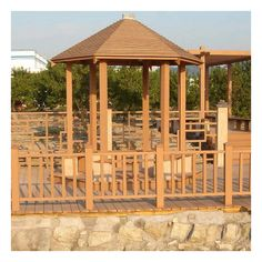 synthetic wood pergolas