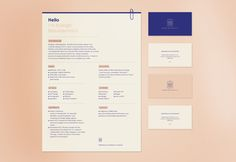Personal Branding by Kyleigh Bezuidenhout, via Behance
