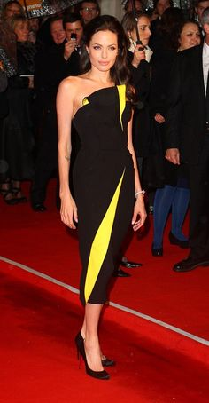 Angelina Jolie in Armani Prive BAFTAs 2009