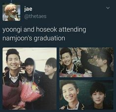 Now Jungkookies Graduation and next will be Jins from Uni ! Congrats y'all