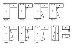 Geometric Shape Tunic Styles    Página web para aprender a dibujar patrones desde el principio.