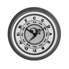 Special Offers - CafePress Wall Clock  Bass Clef Circle of Fifths Wall Clock - In stock & Free Shipping. You can save more money! Check It (July 21 2016 at 07:47PM) >> http://wallclockusa.net/cafepress-wall-clock-bass-clef-circle-of-fifths-wall-clock/