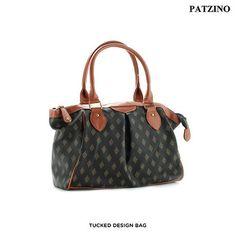 Patzino Signature Diamond Edition Handbag - Assorted Styles at 73% Savings off Retail!