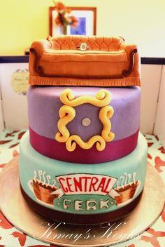friends cake!