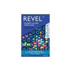 Psychological Testing Revel Access Code (Student) (Other merchandize)