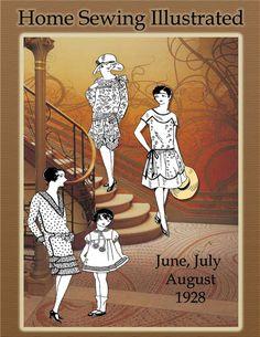 1920s Summer SewingDressmaking MillineryDownton por RumbleSeatCat