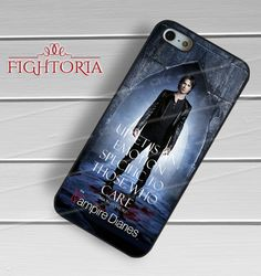 Damon salvatore vampire diaries quotesD for iPhone 6S case, iPhone 5s case, iPhone 6 case, iPhone 4S, Samsung S6 Edge