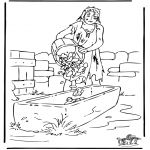 prodigal son coloring page   parable of prodigal son-the lost son ...