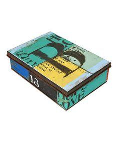 Look at this #zulilyfind! 'B' Box by Wilco #zulilyfinds