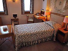 Royal Yacht Britannia, habitación de la Reina Edimburgo