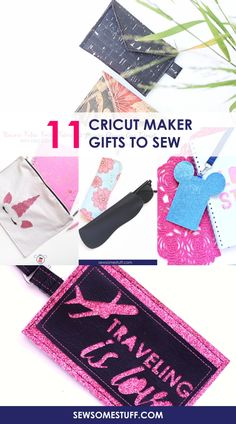 a20ac666f994 11 Super Easy Cricut Maker Sewing Projects as Gifts - Sew Some Stuff