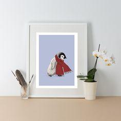 Ben Rothery Penguin A3 Print | Prezola - The Wedding Gift List